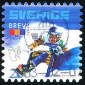 Snowboardista a znakový jazyk