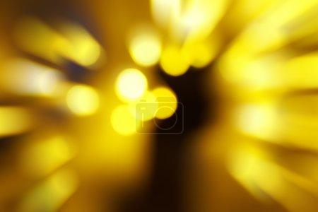 Photo pour Feux rouges et jaunes abstraits de vacances peuvent être utilisés pour le fond - image libre de droit