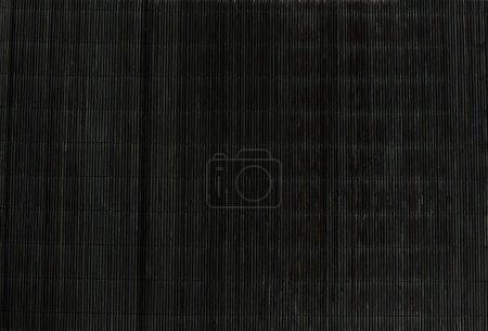 Black strow mat