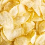 Potato chips background...