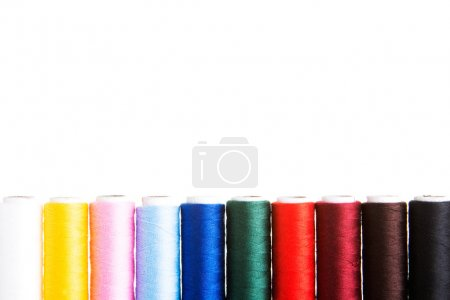 Composition of colorful cotton.