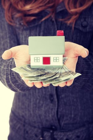 Real estate loan concept