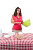 žena piknik女性のピクニック