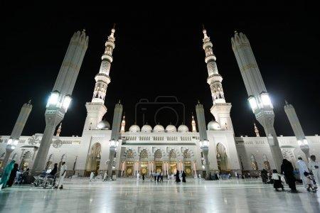 Madina Mosque at night...