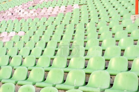 stands at the stadium