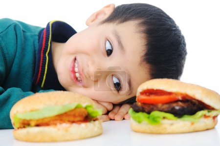 Photo for Burger, fast food - Royalty Free Image