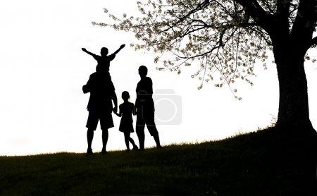Foto de Familia feliz - Imagen libre de derechos