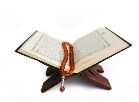Koran, the holy islamic book isolated