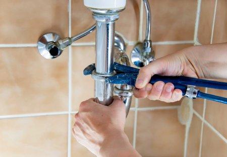 plumber sink