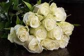 "Постер, картина, фотообои ""Bouquet of white roses"""