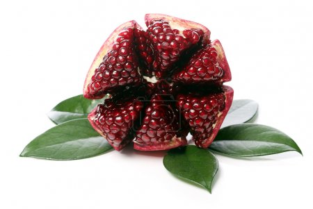 Exotic and delicious pomegranate
