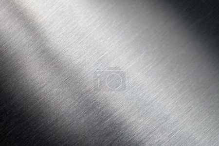 Photo for Background of the scratched metal surface - Royalty Free Image