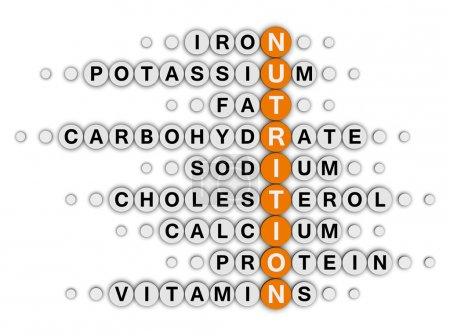 Nutrition facts crossword