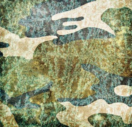 Foto de Fondo grunge militar (marrón, negro, pantano, colores verdes) - Imagen libre de derechos