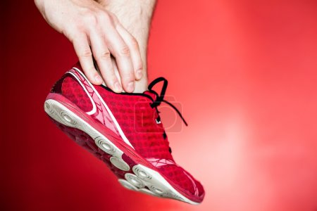 Running injury, leg and ankle pain