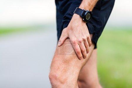 Runner leg pain during training