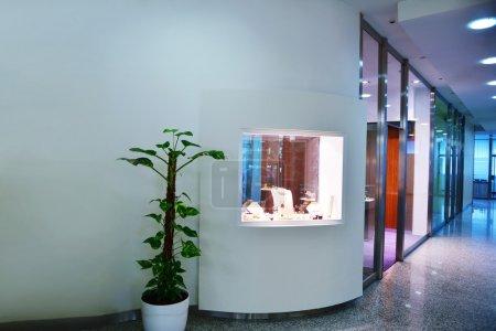 Jewelry store indoors