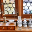 Interior of an old pharmacy...