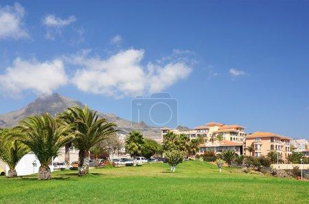 Foto de Isla costa adeje.tenerife, Islas Canarias - Imagen libre de derechos