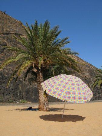 Teresitas beach, Tenerife island, Canaries