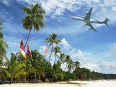 Beach of Langkawi island, Malaysia