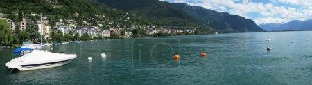 Photo pour Montreux, Suisse - image libre de droit