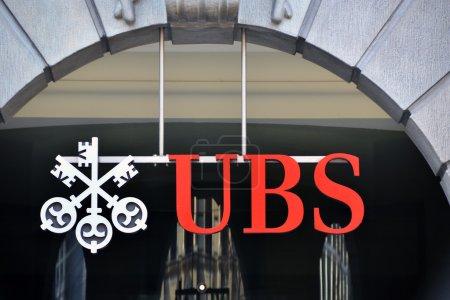 ZURICH - NOVEMBER 1: UBS, Switzerland's largest ba...