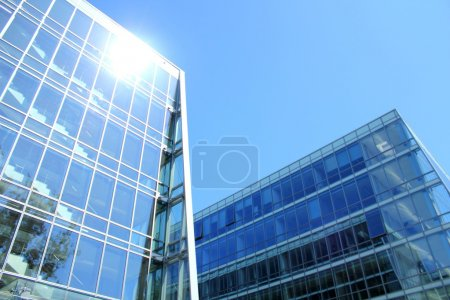 Photo for Modern building of Pomeranian Science and Technology Park, Gdynia, Poland - Royalty Free Image