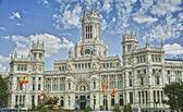 The Plaza de Cibeles in Madrid