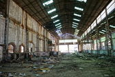 Old Industrial mining factory