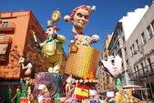 Fallas - colorful funny figures