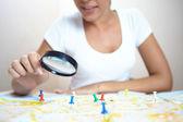 Nő keresi a világ Térkép