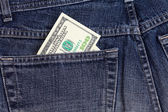 Dolary v kapse džíny