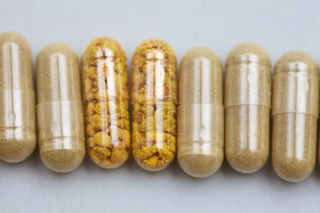 Photo for Pills on the table close up - Royalty Free Image