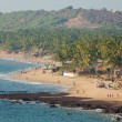 The coast and beach of the southern state of India...