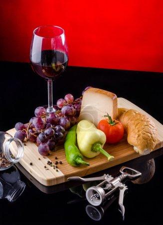 Photo pour Nourriture et boisson nature morte - image libre de droit