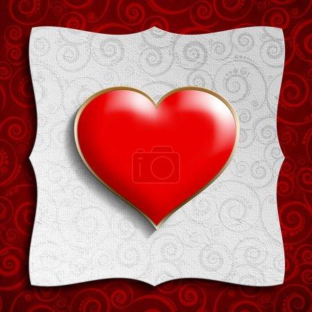Valentine Day background template
