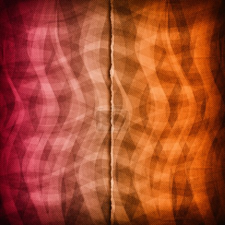 Double layered pattern background or texture