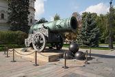 Carské dělo na Kreml v Moskvě