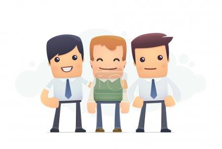 Illustration pour Une attention particulière au client. illustration conceptuelle - image libre de droit