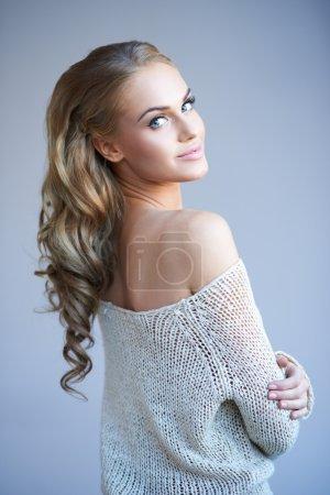 Beautiful elegant woman