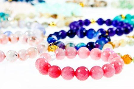 Photo for Bracelets on white - Royalty Free Image
