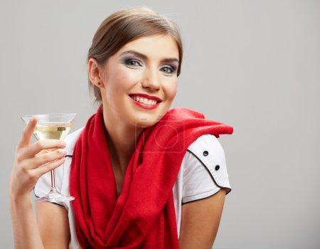 Celebrating woman