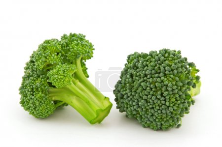 Photo for Fresh broccoli isolated on white background,Nikon D5000 - Royalty Free Image