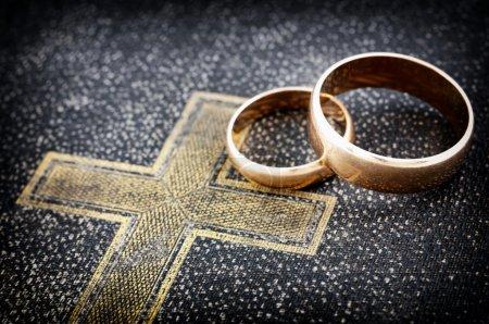 Photo for Marriage (macro photo) - Royalty Free Image