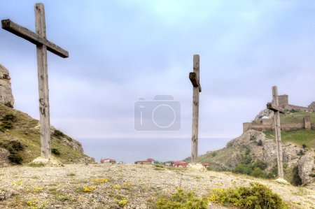 Crosses for crucifixion
