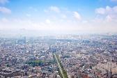 "Постер, картина, фотообои ""Панорама города Париж"""