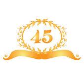 Nápis-45 výročí