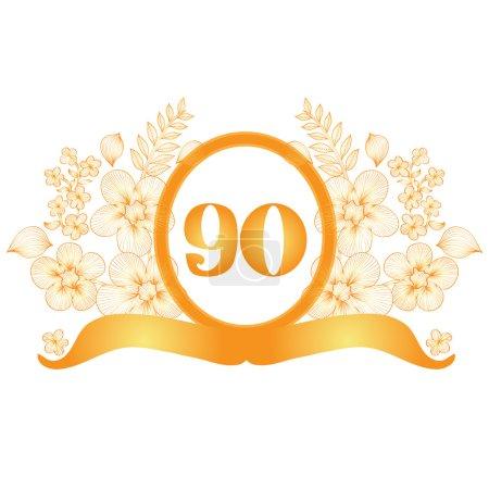 90th anniversary banner