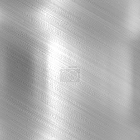 Photo pour Fond métallique ou texture de tôle d'aluminium brillant - image libre de droit